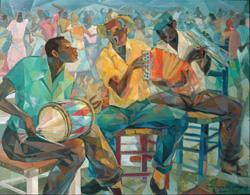 Jacinto Domnguez, Perico Ripiao, ca. 1980-1985, oil on canvas