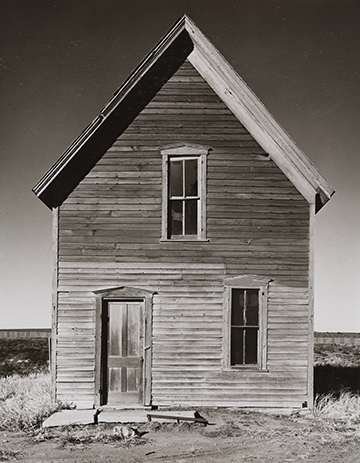 Wright Morris (American, 1910-1998). Near McCook, 1939. Silver print. Gift of Samuel Charters and Ann Charters.