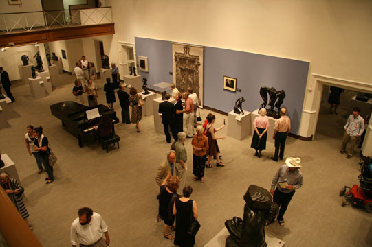 Opening Reception for Rodin exhibition