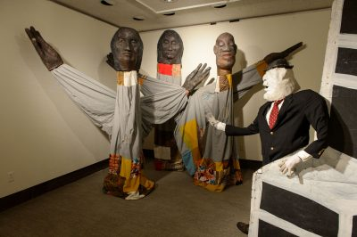 Bread and Puppet Theater exhibit