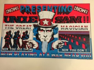 Uncle Sam Now Playing Magician, Don Seebach, 1971