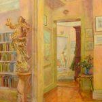 Felicia Meyer Marsh, Interior, n/d, Oil on Masonite