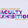 51st Annual Studio Art Faculty Exhibition