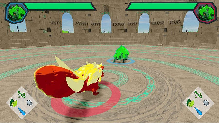 Screen capture, Mythren, 2020, Video game