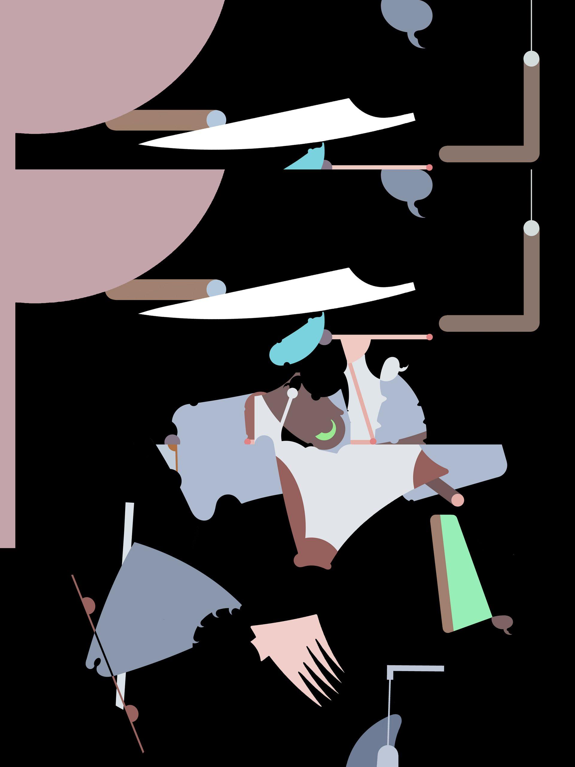 Laurie Sloan untitled inkjet print