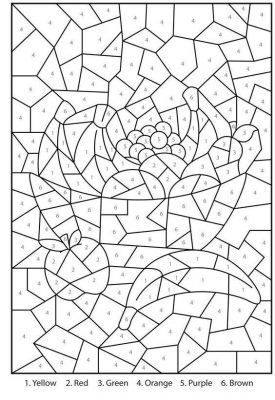 Easy printable coloring page
