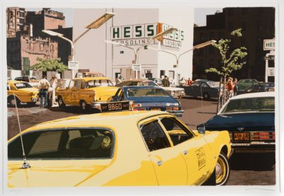 """Gas Line, from the portfolio of CITY-SCAPES by Ron Kleemann"