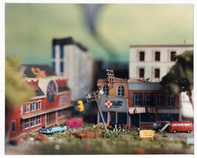 """Tornado, from the series Accidentally Kansas"" by Lori Nix"