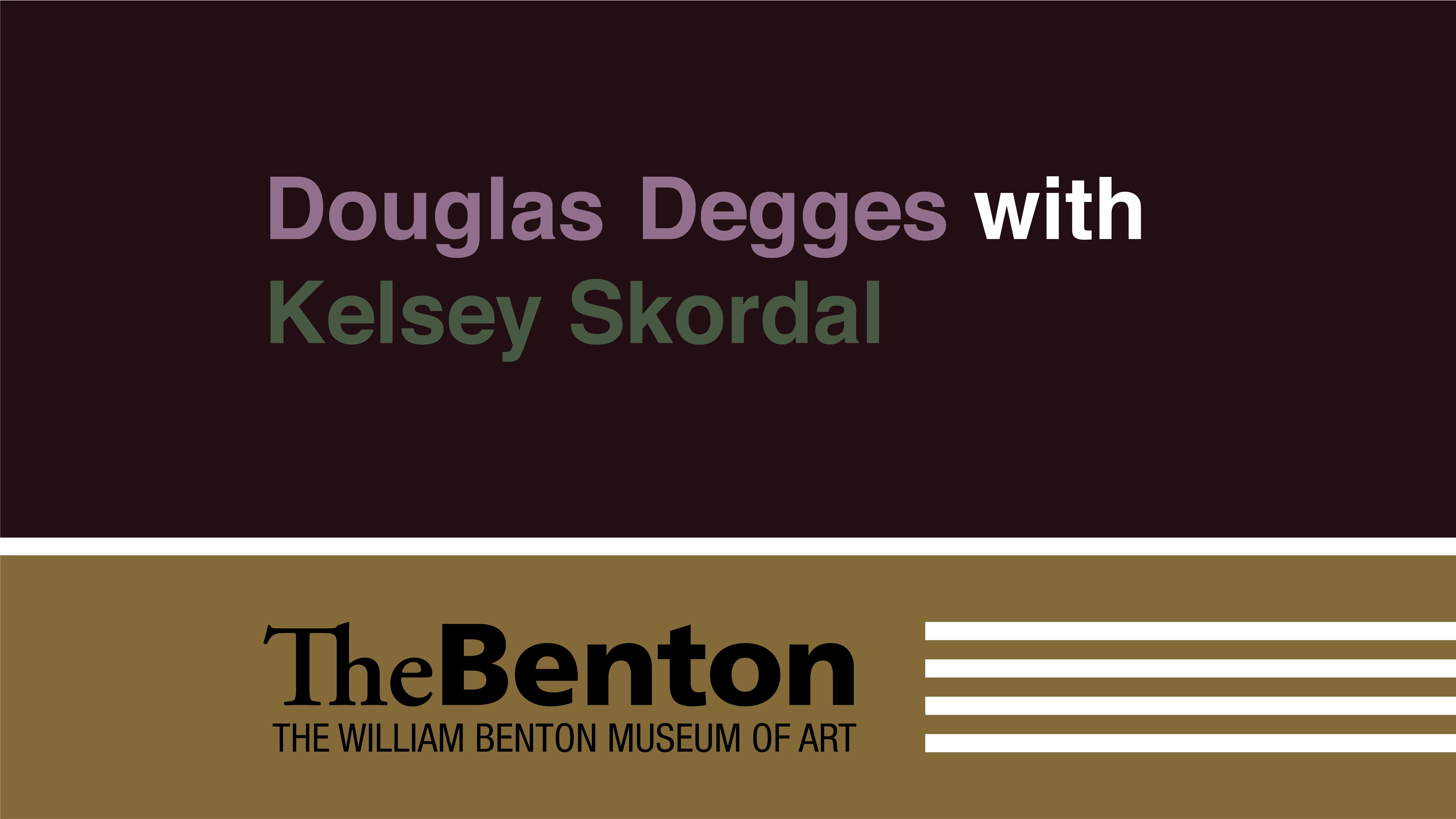 Douglas Degges with Kelsey Skordal