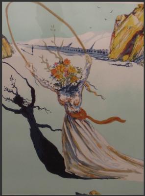 Transcendent Passage by Salvador Dali