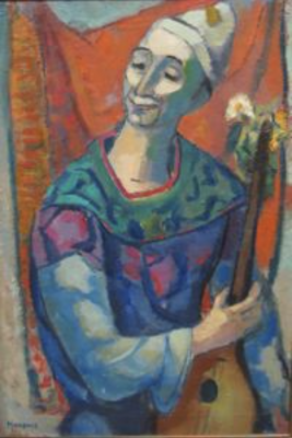 Clown by Gerrit Hondius