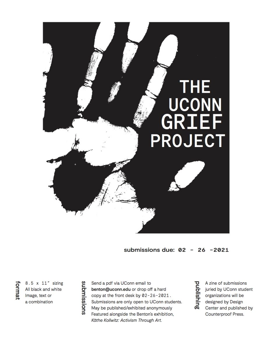 The UConn Grief Project poster