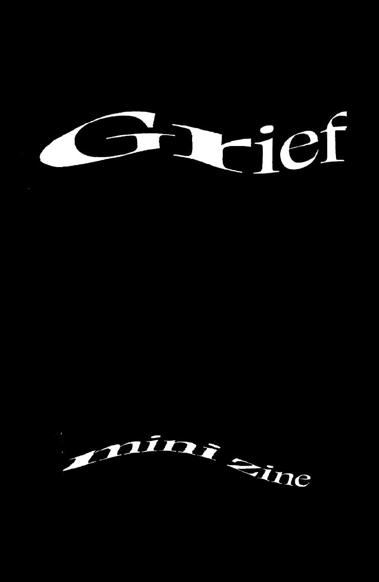 The UConn Grief Project Mini Zine