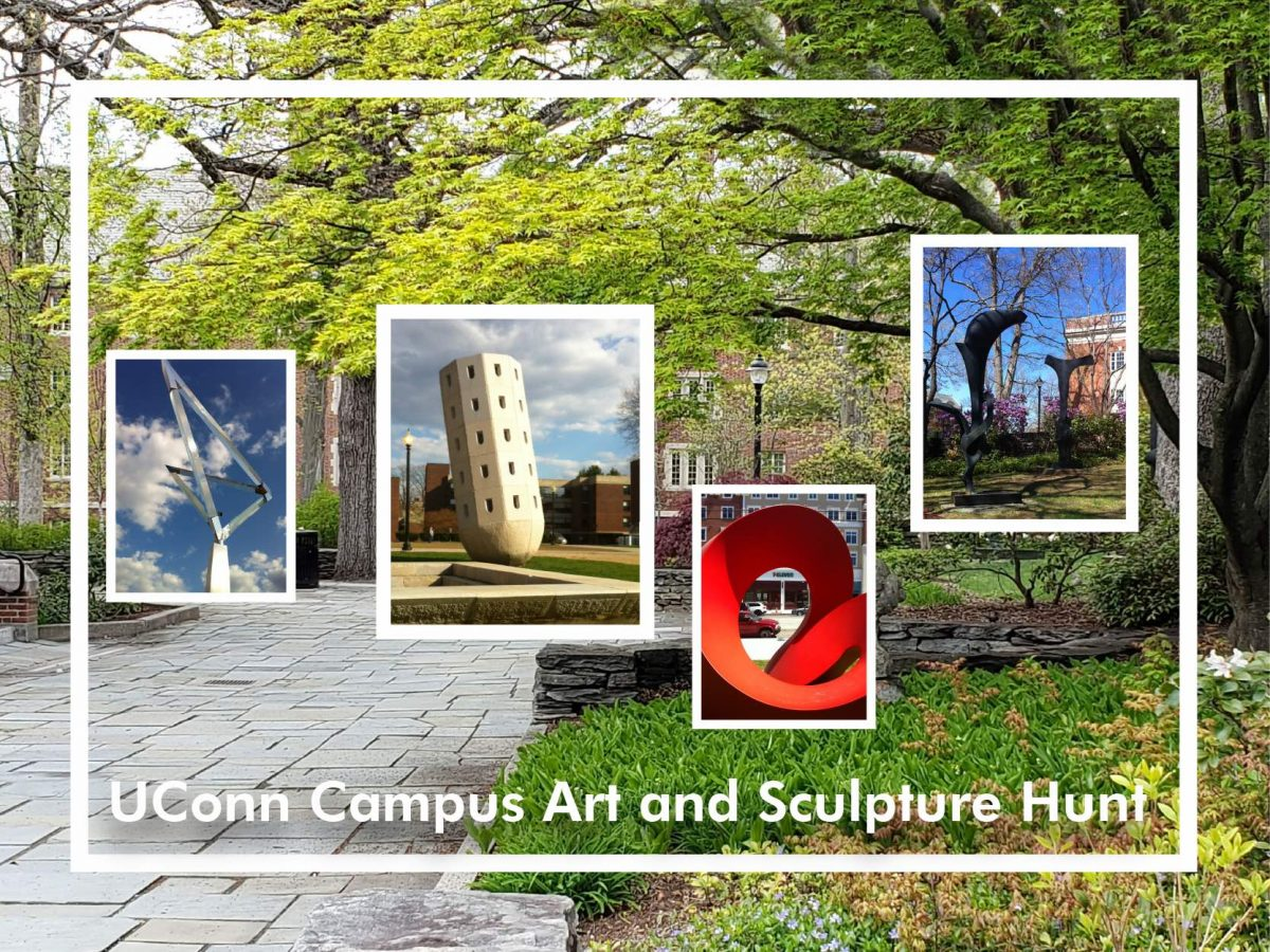 Link to the UConn Campus Art and Sculpture Hunt