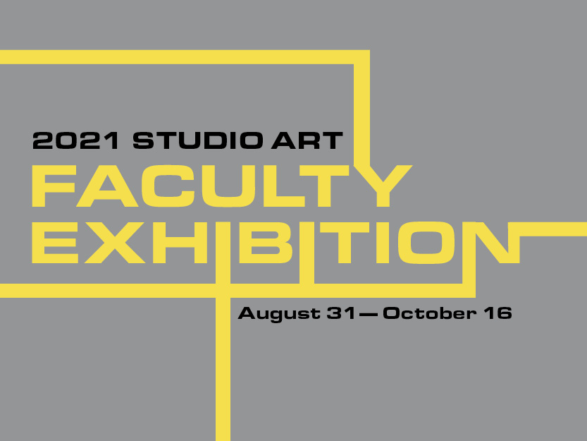 Faculty Exhibition Title Graphic